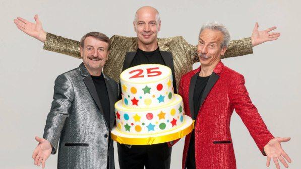 Aldo, Giovanni e Giacomo, a dicembre il nuovo film per il 25° anniversario del trio